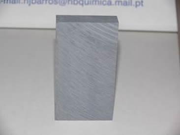 Densidade KG/M3 1850-1950 Cor Alumínio