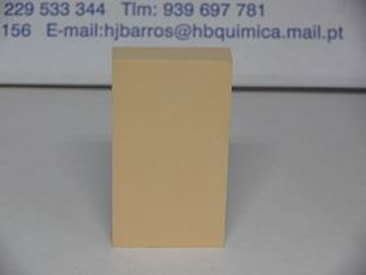 Densidade KG/M3 450-480 Cor Laranja amarelado